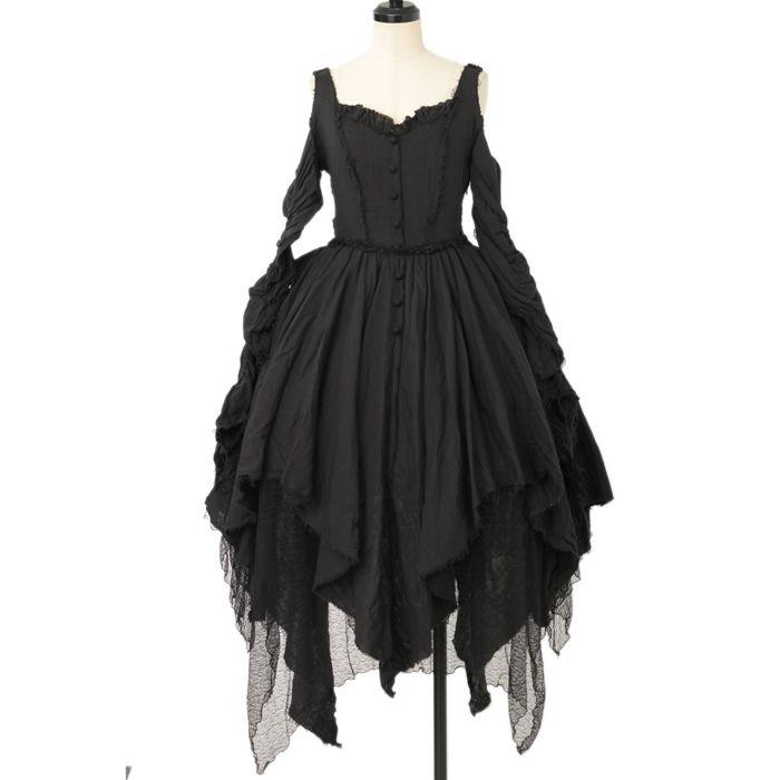 ♡ alice auaa ♡ Black gauze dress http://www.wunderwelt.jp/products/detail12114.html ☆ ·.. · ° ☆ How to order ☆ ·.. · ° ☆ http://www.wunderwelt.jp/user_data/shoppingguide-eng ☆ ·.. · ☆ Japanese Vintage Lolita clothing shop Wunderwelt ☆ ·.. · ☆