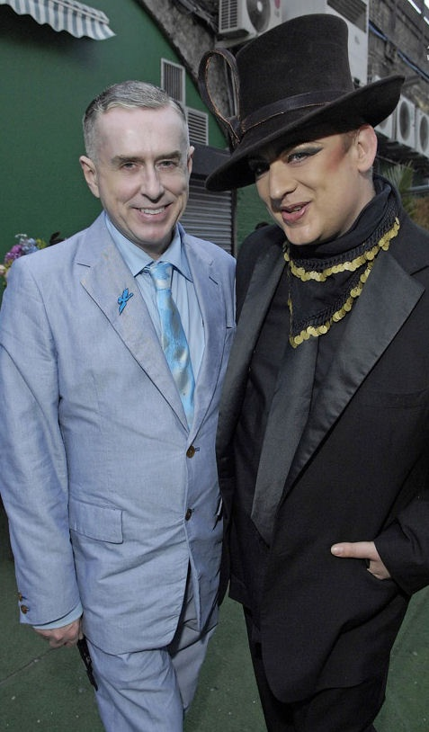 George and Holly Johnson of Frankie Goes to Hollywood