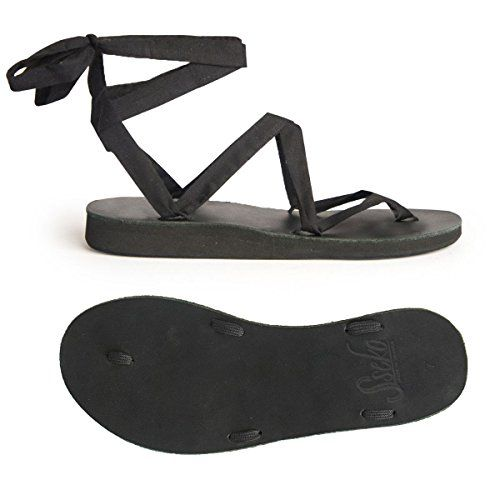 Black Ribbon Sandal Base 12 *** Details can be found by clicking on the image.