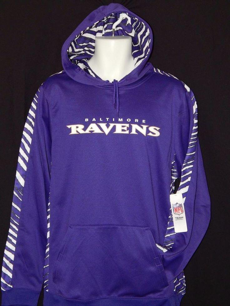 Baltimore Ravens Hooded Sweatshirt MENS Size Large NFL