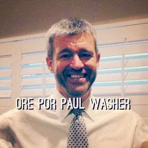 PEDIDO DE ORAÇÃO  O irmão Paul Washer passou nesta noite por um cateterismo cardíaco (bloqueio da veia coronária) bem sucedido. Ontem à noite o estado dele era estável. Oremos por sua recuperação completa.  Obs.: esta informação veio de missionários da própria HeartCry.