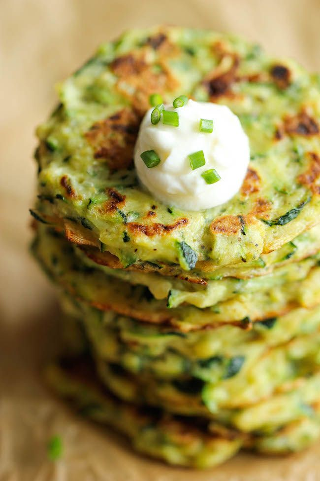 Zucchini fritters, Fritters and Zucchini on Pinterest