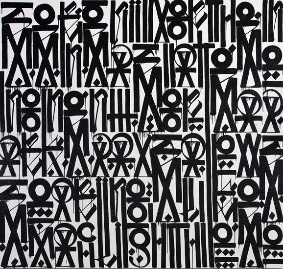 RETNA: New Paintings and Works on Paper | ArtweekLA - Art Here Now