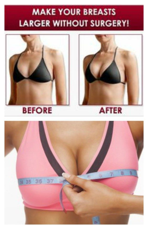 Natural Ways To Get Bigger Breasts