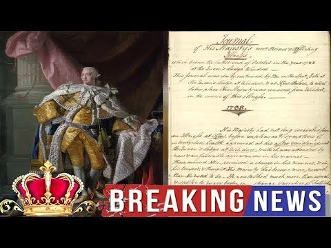 Palace Releases Hamilton King George Iii S Mental Health Records