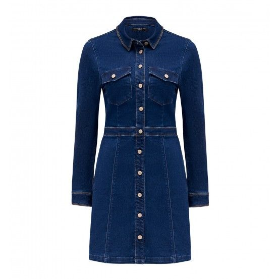Marella Denim Shirt Dress