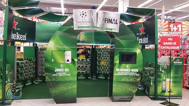 Heineken joue la Champion's League 2014