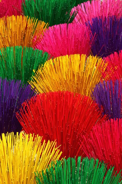 Incense sticks in Hue-Vietnam; Photo by Bertrand Linet (beautiful collection)