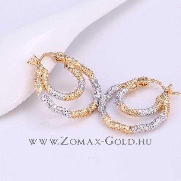 Zoe fülbevaló - Zomax Gold divatékszer www.zomax-gold.hu