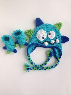 He Sings Over Me: Crochet Monster Hat Pattern