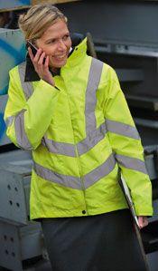Arco Women's Hi-Vis Jacket Yellow, 50 GBP.