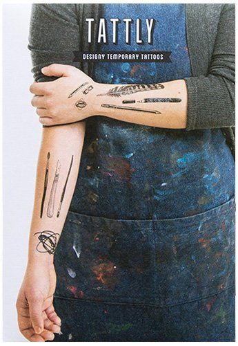 Tattly Temporary Tattoos Art Supplies Set, 1 Ounce * More details @