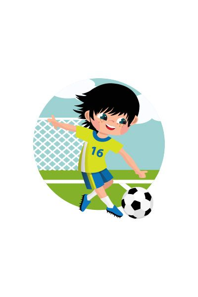 Kid Playing Soccer Vector Image #soccer #vector http://www.vectorvice.com/kids-activities-vector