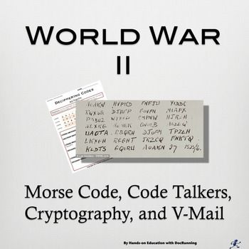 World War 2 Cryptology, codes and Code Breaking 4