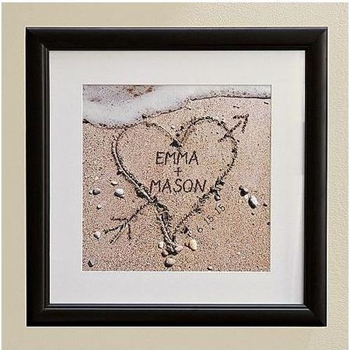 Heart In The Sand | Engagement Gifts For Couples, Him, Her, Fiance, Fiancee