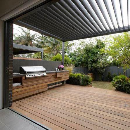 External bbq areas inspiration – timber, bbq – Found on Pinterest