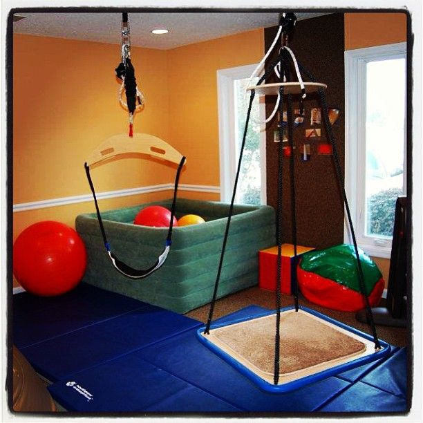 79 best my therapy room share board images on pinterest for Swing for kids room