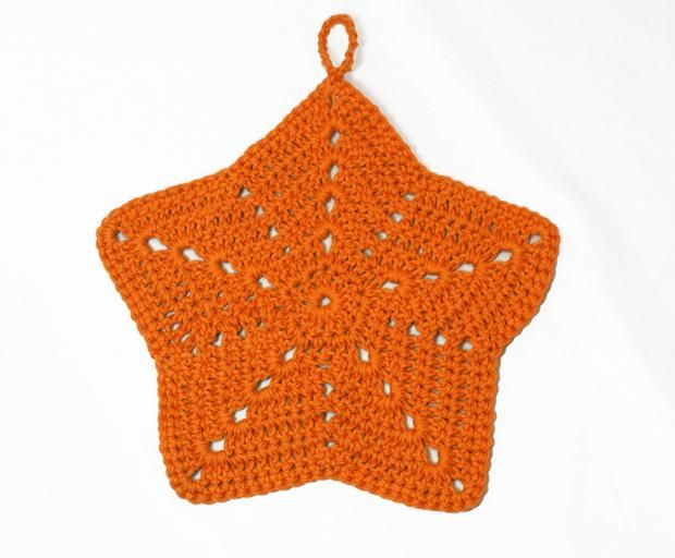Starfish Crochet Washcloth