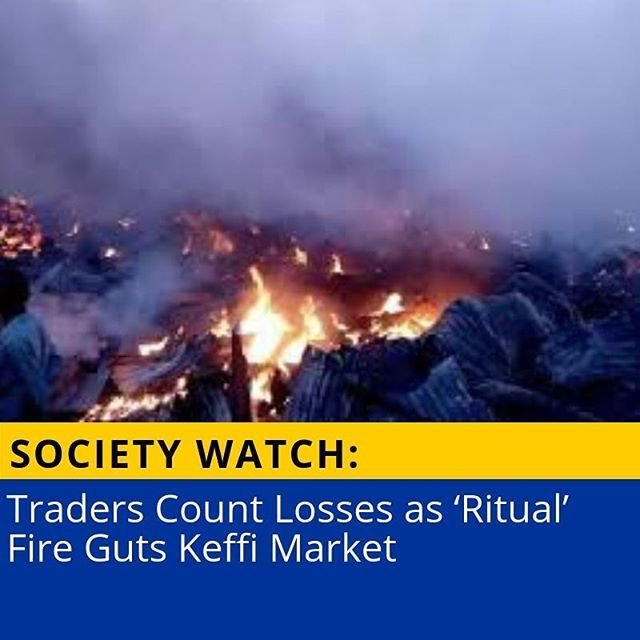 Traders Counts Losses As Ritual Fire Guts Keffi Market Read More