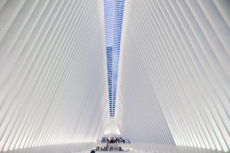 The World Trade Center Oculus New York. [5184x3456][OC]