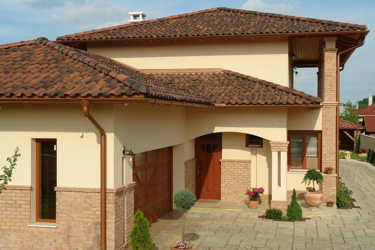 TONDACH® Palotás kerámia tetőcserép antik színben - tető ötlet, mediterrán…