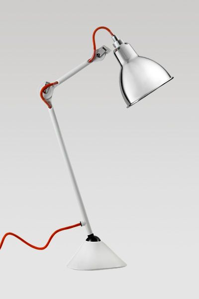 love the exposed, red cord of Le Lampe Gras