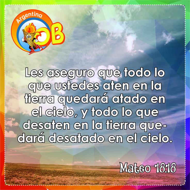 Mateo 18.18