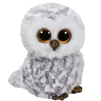 """Owlette the White Owl - Small 7"""" """"Tuck me in to sleep at night, but when you hug me, hold me tight!"""" Birthday: April 20 Beanie Boos are an adorable Ty collection of plush full-bodied animals with big"""