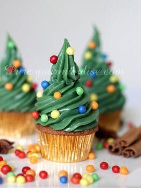 Magnifiques cupcakes de Noël ! by Puregourmandise