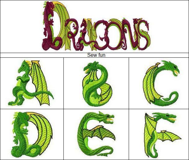 Gransys alphabet