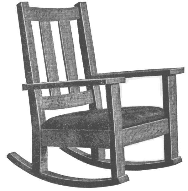 Mission Style Furnishings Rocking Chair Plans