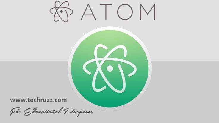 How to Download and Install Atom Code Editor in Windows 10 2017