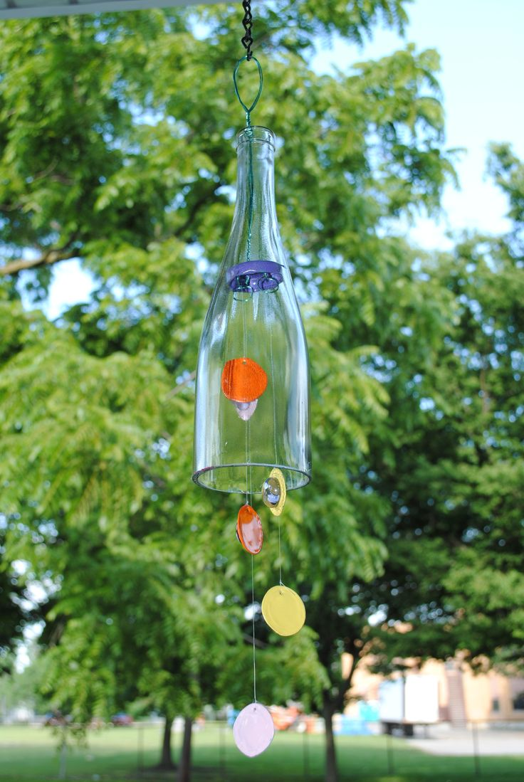 267 best recycled wine bottles images on pinterest for Wine bottle crafts for sale