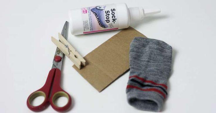 Anti Rutsch Socken für den Hund selber machen   Anti ...