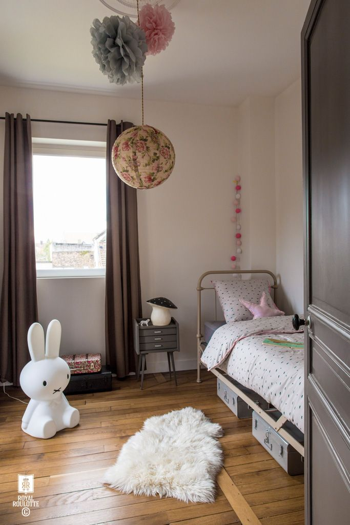 KIDS BEDROOM : THELMA, NINA ET MIFFY -★- ROYAL ROULOTTE Picture Louise Desrosiers / Stylist Amandine Schira