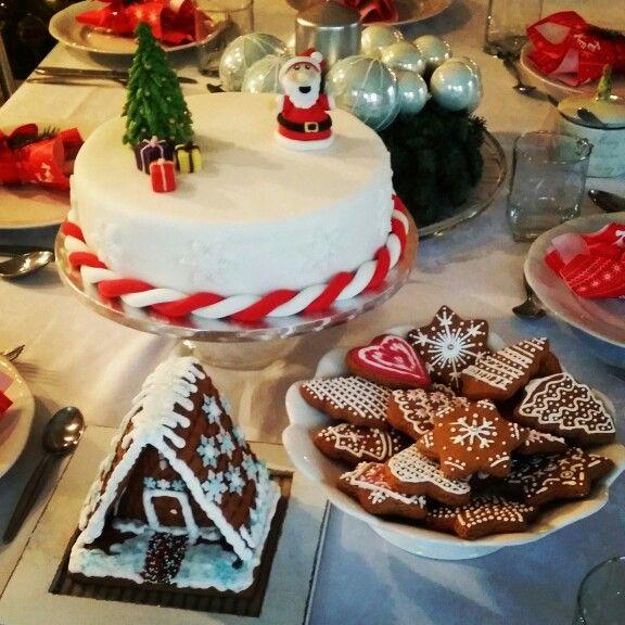 Christmas cake & cookies