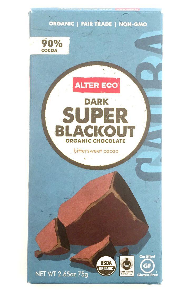 Alter Eco Dark Super Blackout Organic Chocolate