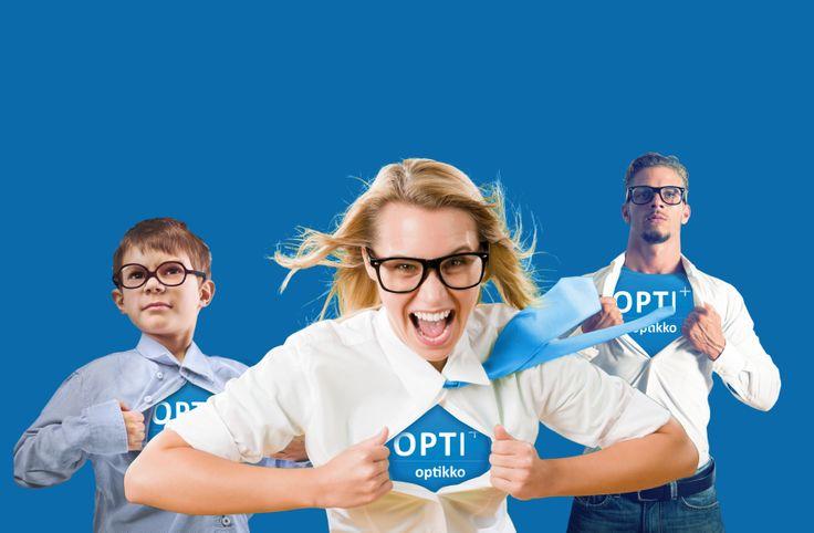 OPTI+ optikolta super-laatua koko perheelle!