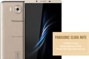 Panasonic Launched Mid Range Smartphone Eluga Note for Rs.13,290