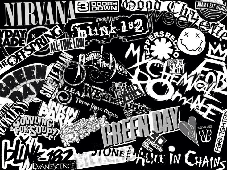 Mostly punk bands <3