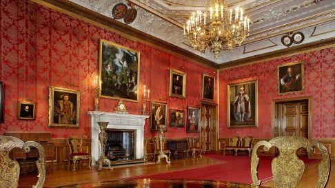 The Queen S Drawing Room Windsor Castle The Queen S
