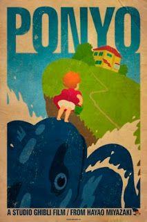 Fabric Sound: Studio Ghibli poster designs