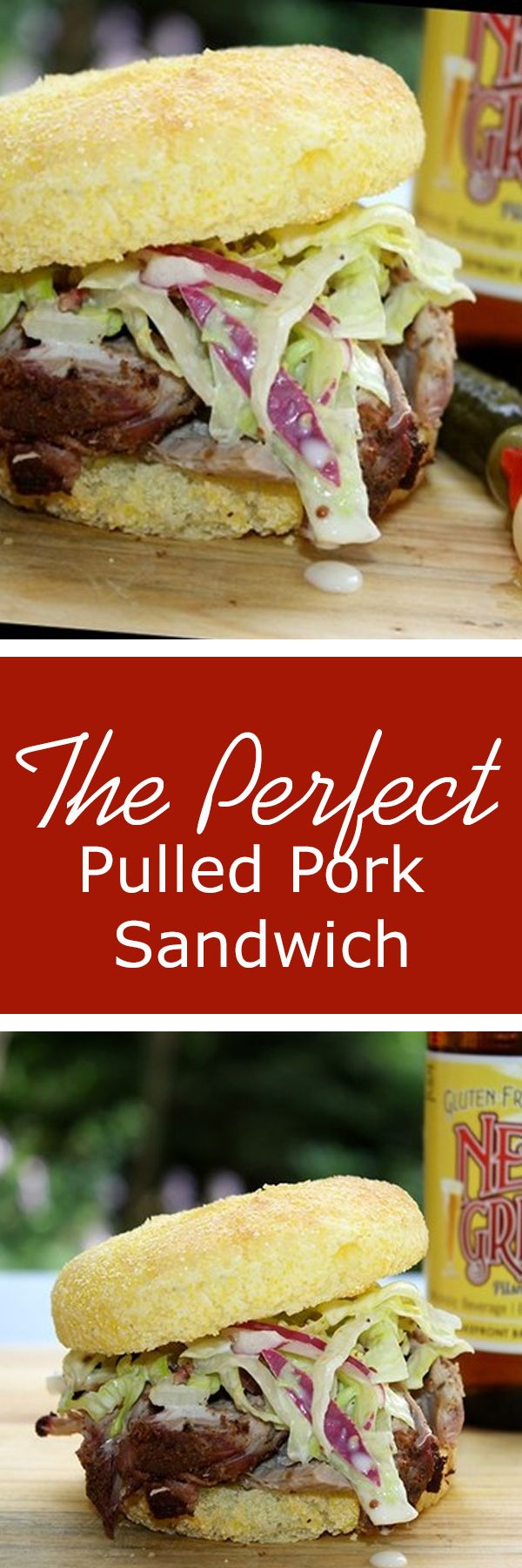 The perfect pulled pork sandwich recipe. Yum!