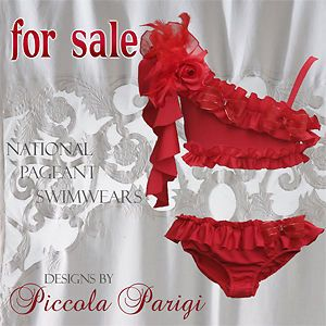 Glitz Pageant Swimwear for Girls | National Pageant Swimwear http://www.ebay.com/itm/Piccola-Parigi ...