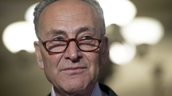 """Senate Minority Leader Chuck Schumer, D-N.Y. ... in his first speech as Senate minority leader, told President-elect Donald Trump on Tuesday that """"America cannot afford a Twitter presidency"""" and vowed that Democrats will hold Trump accountable for keeping his promise to create jobs."""