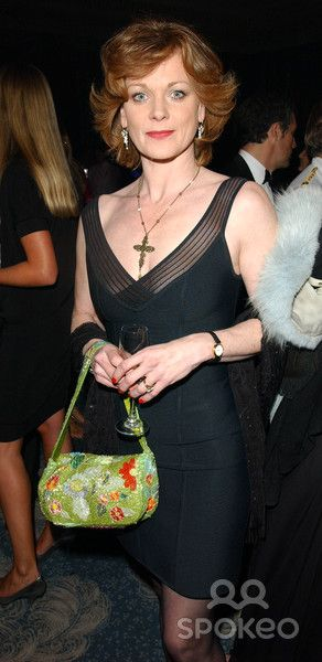 Samantha Bond the Fifi Awards 2003, Dorchester Hotel, Park Lane