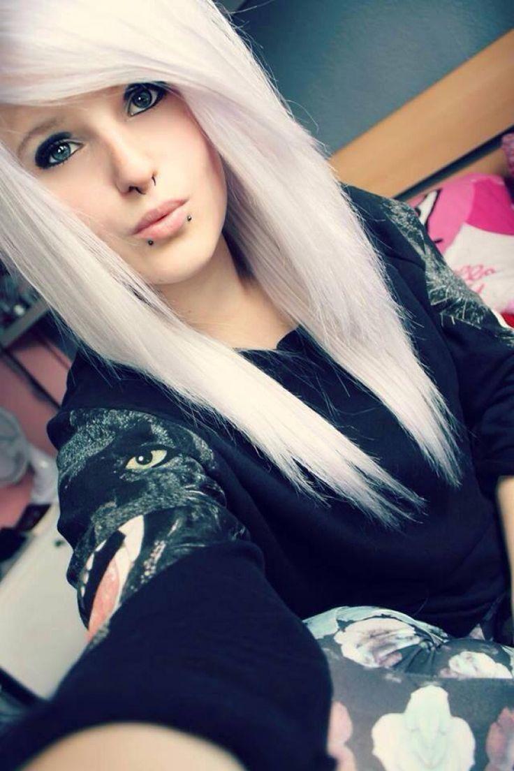 Картинки с эмо блондинками