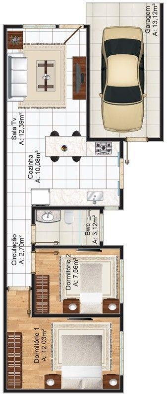 M s de 1000 ideas sobre planos de casas 3d en pinterest for Como hacer un plano de un piso