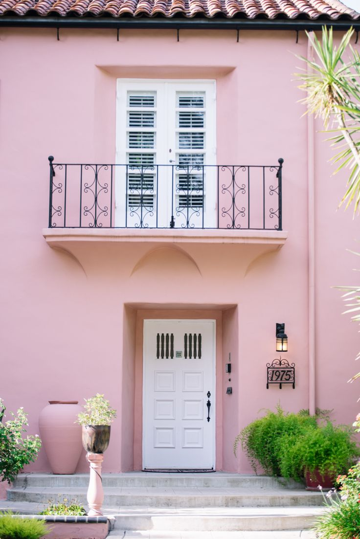 93 best Pink Houses images on Pinterest Architecture Colors and
