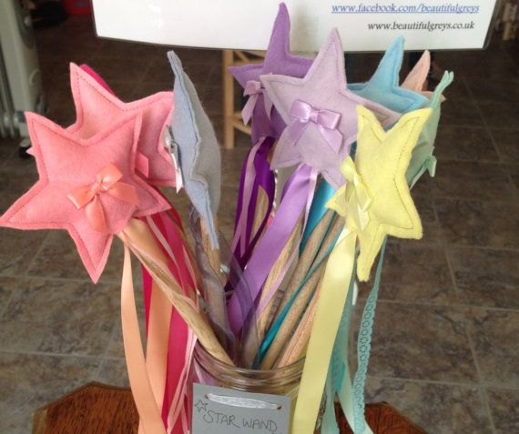 Star wands, Fairy wand. on Etsy, £4.50